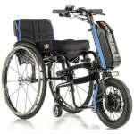 5ème roue électrique Empulse F55 roue 14 pour fauteuil roulant manuel