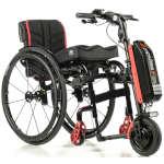 5ème roue électrique Empulse F55 roue 8,5 pour fauteuil roulant manuel