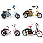 Accessoires pour Tricycles Safari, Aqua, Happy et Sporty