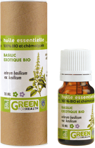 Huile essentielle de Basilic exotique bio 10 ml