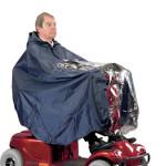 Cape de pluie imperméable pour scooter