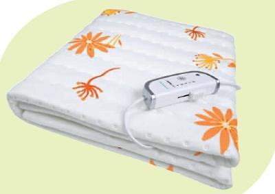 Chauffe-Matelas blanc avec motifs