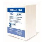 Compresses en non tissé non stériles 30gr 7,5x7,5 cm