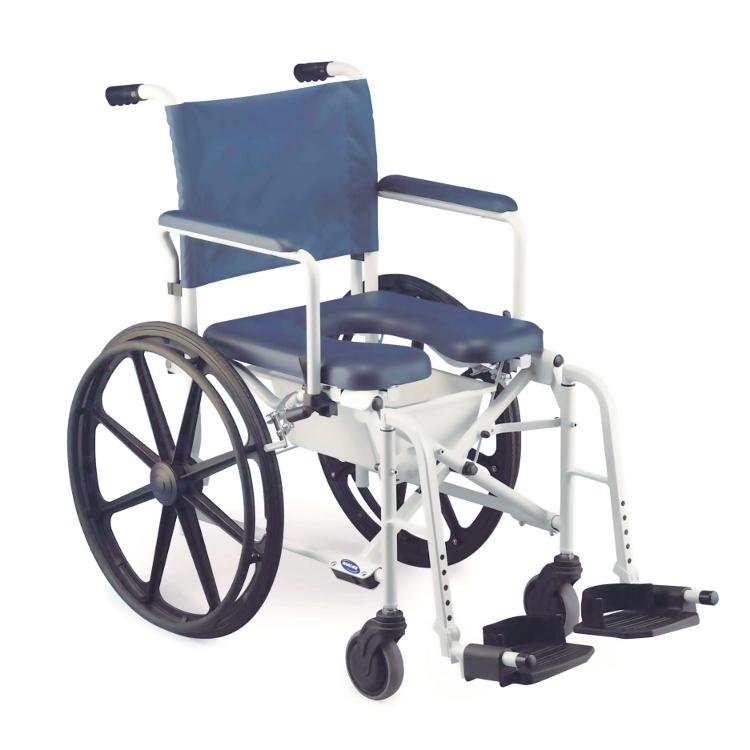 fauteuil de douche pliant invacare lima h263 h273. Black Bedroom Furniture Sets. Home Design Ideas