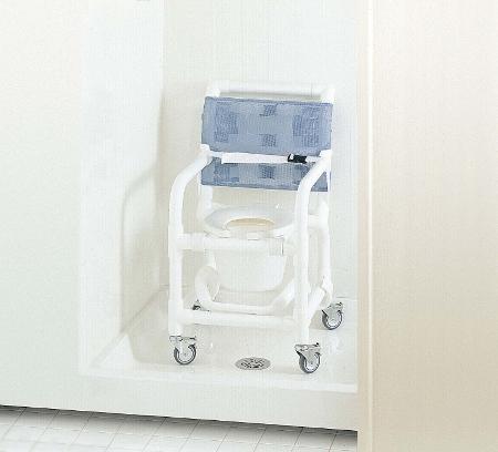 Chaise de douche percée en PVC