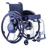 Dispositif motorisé TWION pour fauteuil roulant manuel