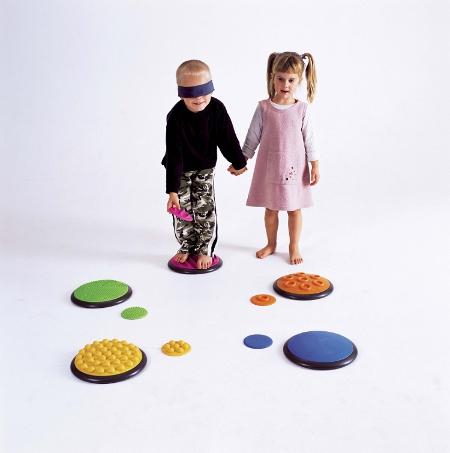 Disques tactiles Stimulation sensorielle