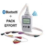 Electrocardiographe sans fil EDAN SE-1010 + Pack Effort