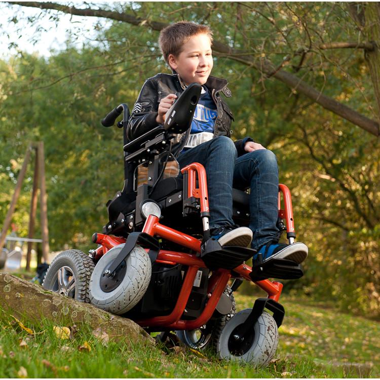 Fauteuil roulant lectrique enfant forest kids sofamed - Chaise roulante electrique prix ...