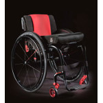 Fauteuil roulant manuel l�ger Quickie Helium Black & White Edition