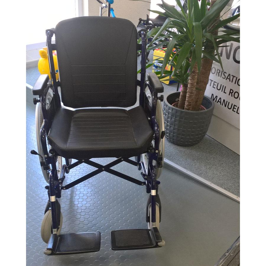 fauteuil roulant manuel 28 d 39 occasion. Black Bedroom Furniture Sets. Home Design Ideas