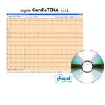 Logiciel CardioTEKA pour ECG Ascard ASPEL