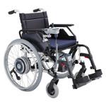Motorisation électrique SOLO pour fauteuil roulant manuel
