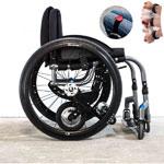 Motorisation électrique YOMPER 2.0 pour fauteuil roulant manuel (innovation)