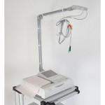 Porte-câble OA300 pour chariot ECG Fukuda Denshi