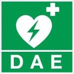 Signalétique DAE pour défibrillateur