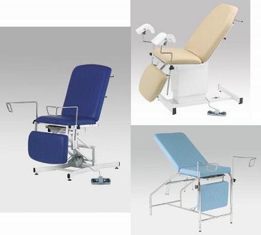 Accessoires pour fauteuils de gynécologie 625, 725 et 524