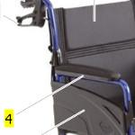 Accoudoir pour fauteuil de transfert Alu Lite