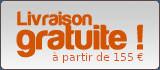 Livraison offerte dès 145€ d'achats