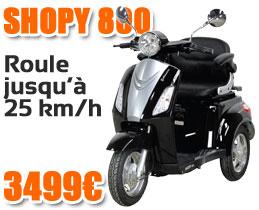 Nouveau scooter électrique Shopy 800