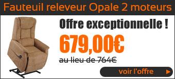 Promo Fauteuil Releveur Opale 2