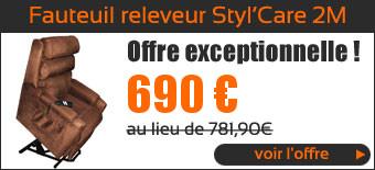 Promo Fauteuil Releveur Styl'Care 2 moteurs