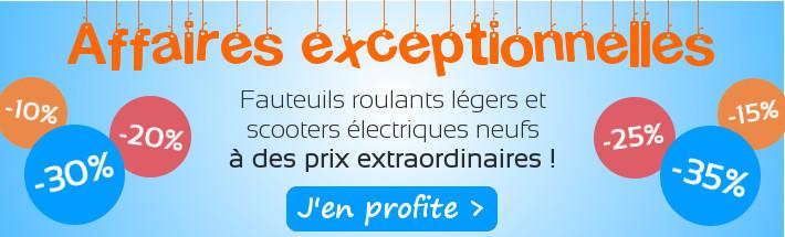 Affaires exceptionnelles sur les fauteuils roulants légers et scooters électriques