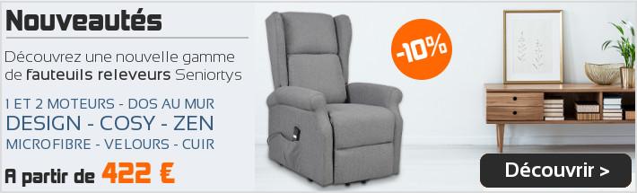 Nouvelle gamme de fauteuils releveurs Seniortys