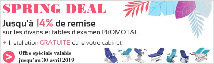 Promotion divans d'examen Promotal