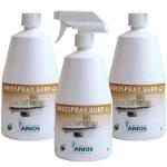 Aniospray Surf 41 - 3 flacons de 1 litre avec 1 pulvérisateur