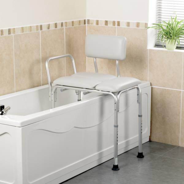Banc de transfert comfy pour baignoire si ge de bain handicap sofamed - Baignoire pour handicape ...
