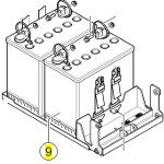 Batteries 50Ah pour fauteuil roulant TDX SP NB