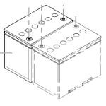 Batteries 73Ah pour fauteuil roulant Storm 4, TDX SP, Kite