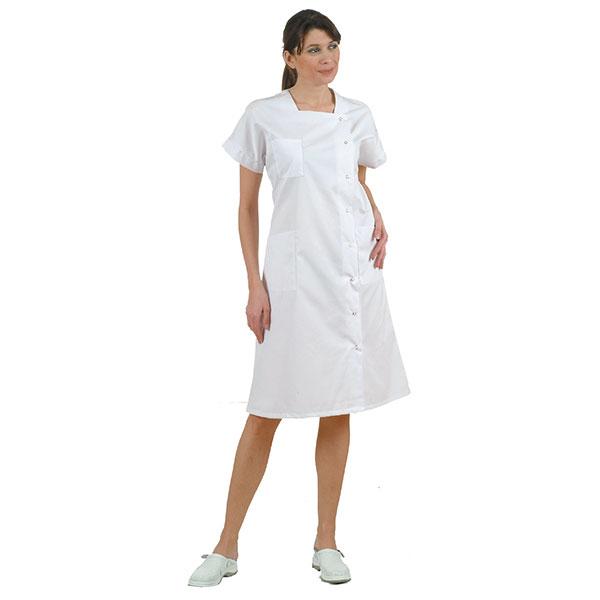 blouse blanche m dicale femme cyrel v tements infirmi res. Black Bedroom Furniture Sets. Home Design Ideas