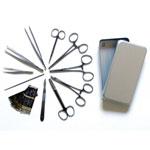 Boîte de petite chirurgie en aluminium