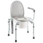 Cadre de toilettes et chaise percée Invacare IZZO