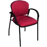 Chaise d'accueil Roisel avec accoudoirs