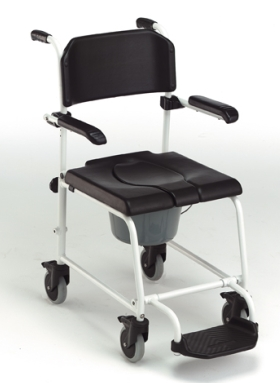 Chaise de Douche-Toilette, à pousser  Invacare Cascade H243