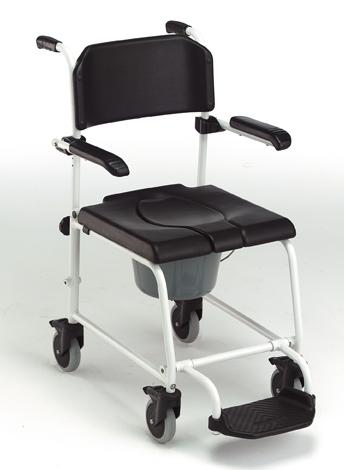 chaise de douche toilette pousser invacare cascade h243 sofamed. Black Bedroom Furniture Sets. Home Design Ideas