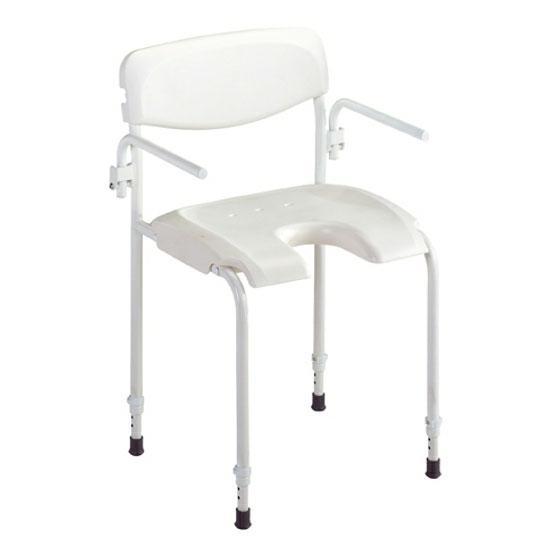 chaise de douche invacare aliz. Black Bedroom Furniture Sets. Home Design Ideas