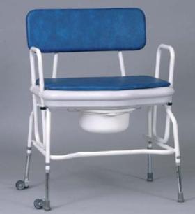 Chaise percée Extra Large réglable en hauteur