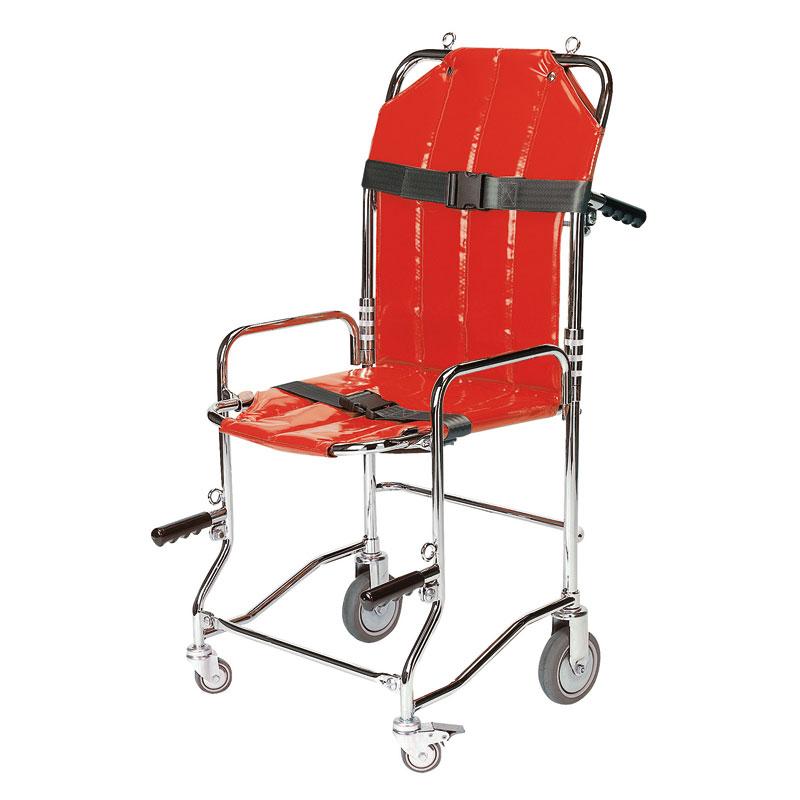 Chaise Portoir Pliable 4 Roues Poignes 2 Sangles