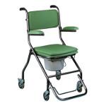 Chaise Toilette pliante, à roues, Vilgo GR192