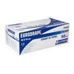 Champs de soins stériles non troués Eurodrape 40 x 45