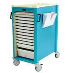Chariot de distribution de médicaments Distri 7 - 15 ou 30 cases