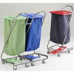 Chariots sacs à linge accrochables