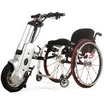 5ème roue électrique pour fauteuil roulant manuel