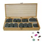 Kit de massage aux pierres chaudes
