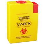 Collecteur d'aiguilles Sanibox Mini 250 ml