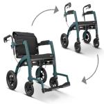 Déambulateur et fauteuil roulant Rollz Motion Performance 2 en 1
